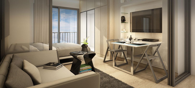 Ideo-Q-Chula-Samyan-Bangoko-condo-1-bedroom-for-sale-photo-1